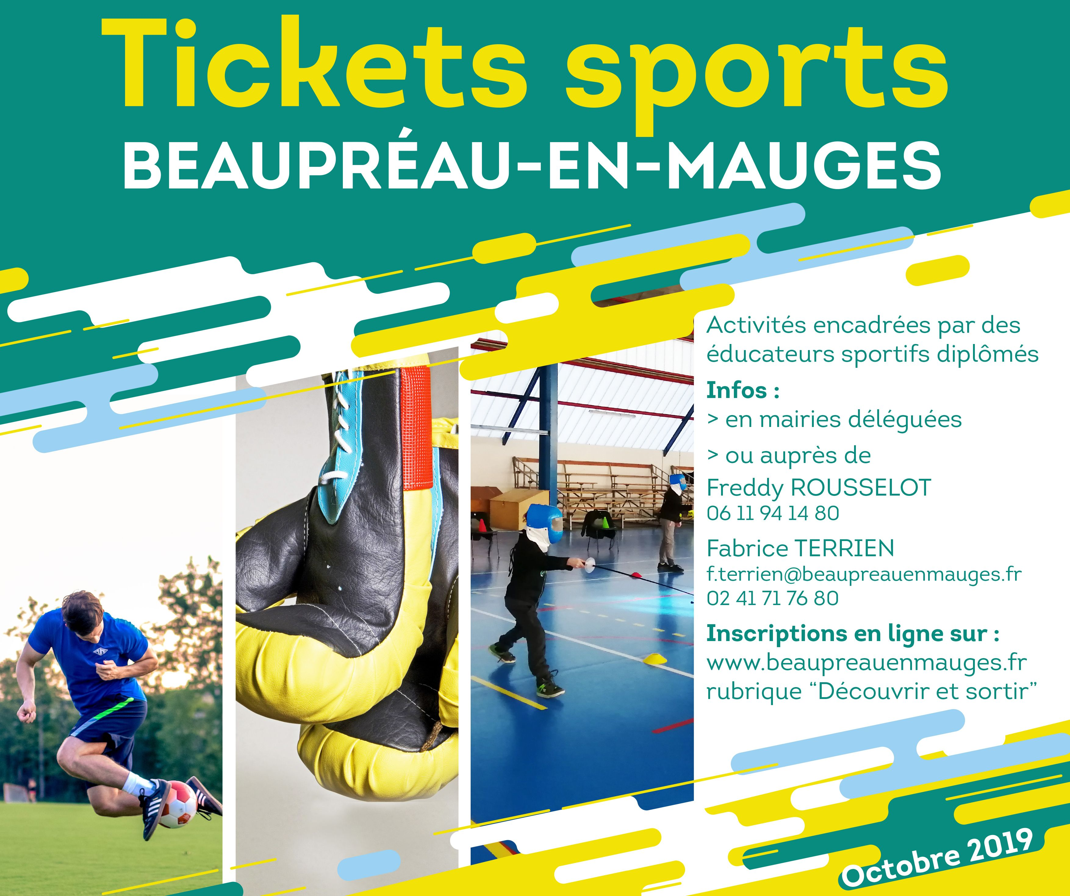 tickets sports octobre2019